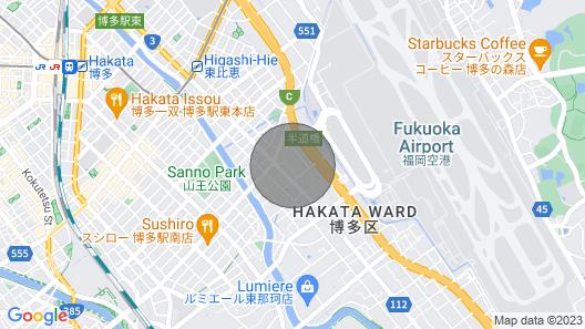 Hakata Apartment Hakata Apartment 55m2 Map