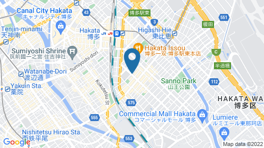 Residence Hotel Hakata 12 Map