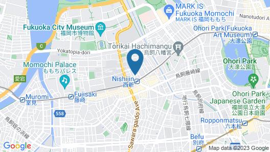 The Guest House CocoConne Fukuoka Nishijin Map
