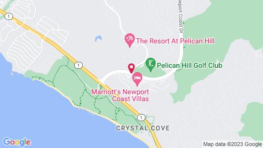 Marriott's Newport Coast Villas Map