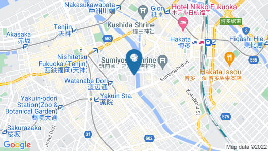 A GOOD DAY FUKUOKA RIVERSIDE Map