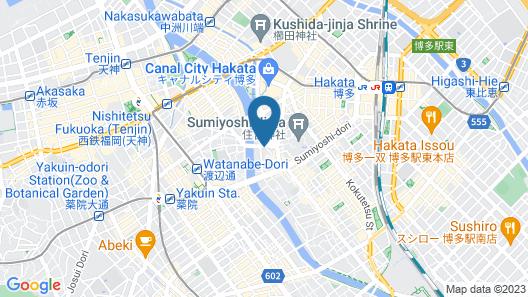Stay Hakata Map