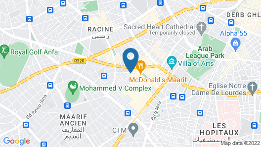 Down Town Hotel By Business & Leisure Hôtels Map