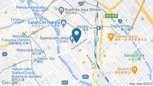 Hotel Hokke Club Fukuoka Map