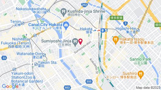 HOTEL UNIZO Hakataeki Hakataguchi Map