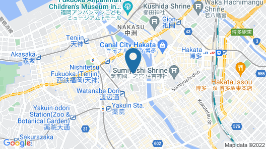 GRAND BASE Fukuoka Map