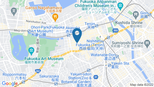 mizuka Daimyo 4 - unmanned hotel Map