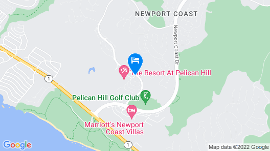 The Resort at Pelican Hill Map