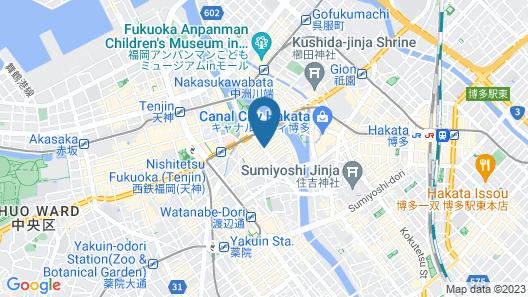 Hotel MyStays Fukuoka-Tenjin-Minami Map