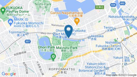 Heiwadai Hotel Otemon Map