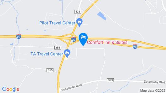 Comfort Inn & Suites Lincoln Talladega I-20 Map