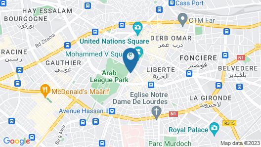 Park Suites Hotel & Spa Map