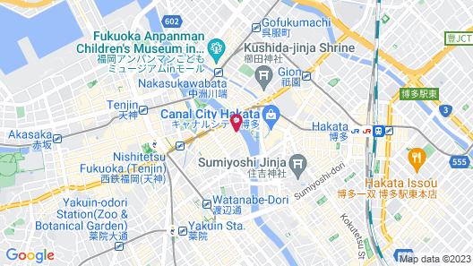 The OneFive Villa Fukuoka Map