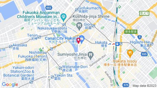 Grand Hyatt Fukuoka Map