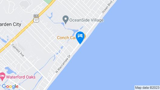 Ocean Cove 211 - Oceanfront in Garden City Beach, SC Map