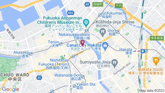 FUKUOKA FLORAL INN NISHINAKASU Map