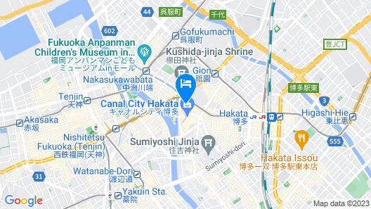 HafH Fukuoka THE LIFE Map