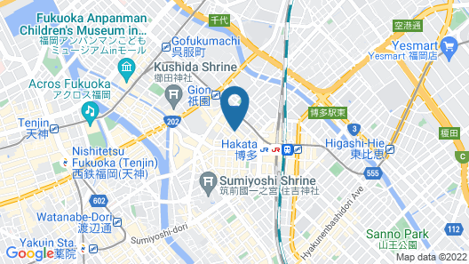 NEST HOTEL HAKATA STATION Map