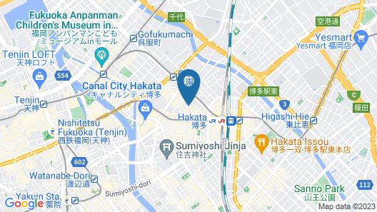 S-PERIA HOTEL HAKATA Map