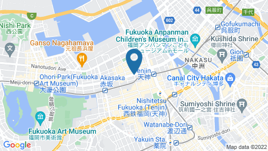 Hotel Monterey La Soeur Fukuoka Map