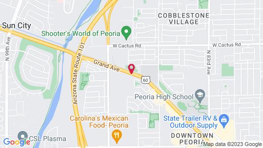 Days Hotel by Wyndham Peoria Glendale Area Map