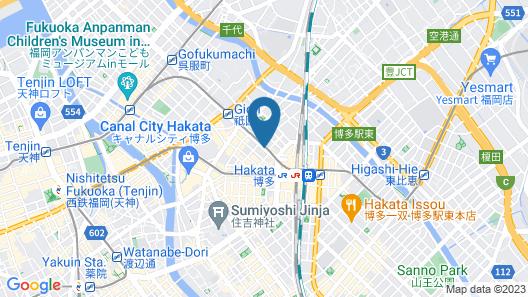 Hotel Nikko Fukuoka Map