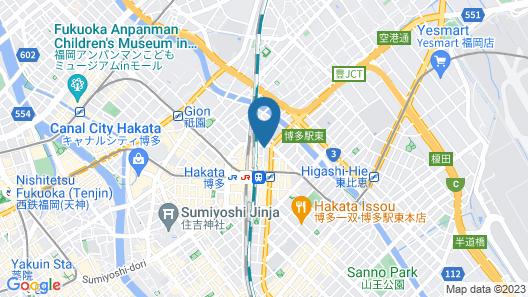 Hakata Green Hotel No.1 Map