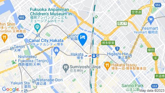 Hakata Tokyu REI Hotel Map
