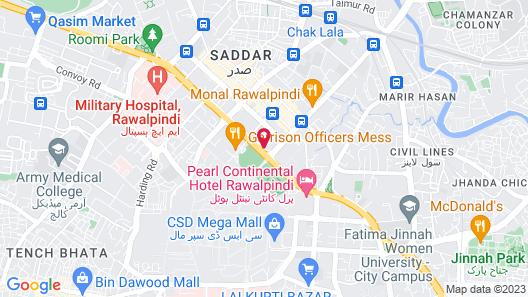 Flashman's Hotel Map