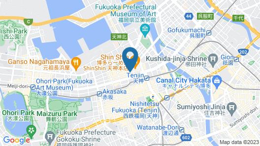 Hotel MyStays Fukuoka-Tenjin Map