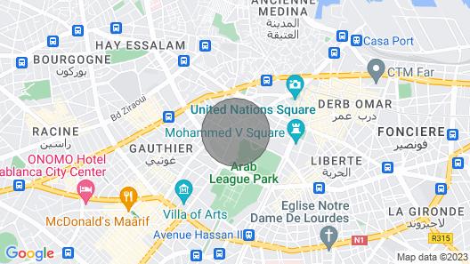 Appartement Central, vue Imprenable #17 Map