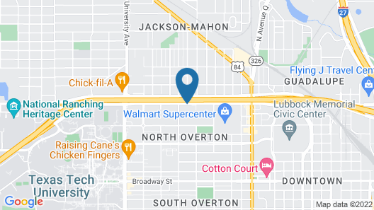 Holiday Inn Express & Suites Lubbock Central - Univ Area, an IHG Hotel Map