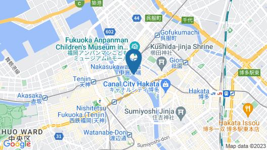 mizuka Plus Nakasu Map