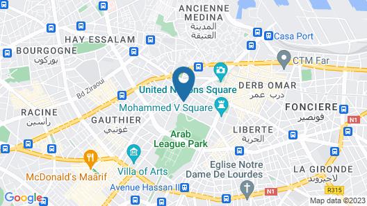 Hôtel & Spa Le Doge Map