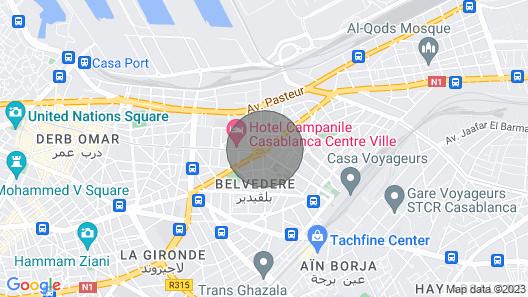 Albert Luxury Studio Map
