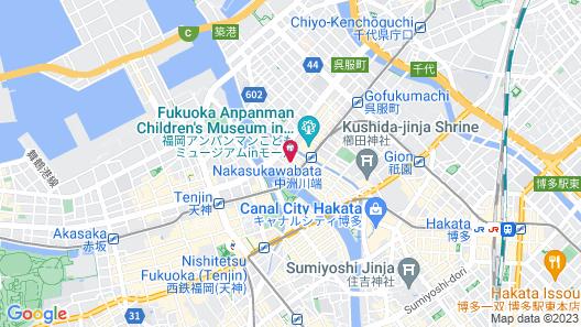 Mitsui Garden Hotel Fukuoka Nakasu Map