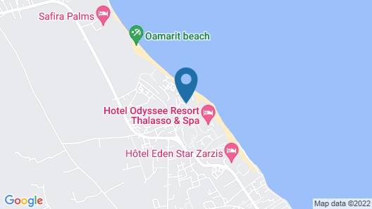 Sangho Zarsis Hotel Map
