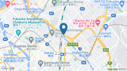 Musubi Hotel Machiya Katakasu 4 Map