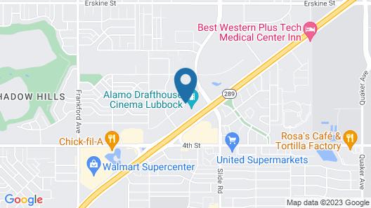 Wingate by Wyndham Lubbock near Texas Tech Univ. Medical Ctr Map