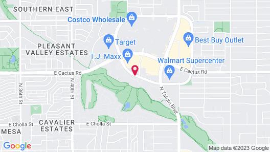 Embassy Suites Phoenix - Scottsdale Map