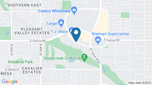 Embassy Suites Phoenix - Scottsdale Map
