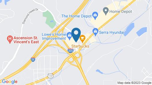 Hampton Inn Birmingham/Trussville Map