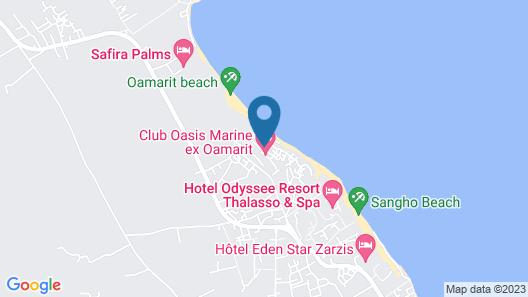 Oasis Marine Club Hotel Map