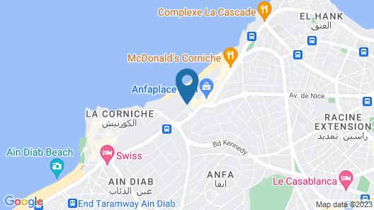 Pestana Casablanca Map