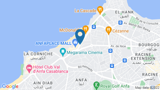 Four Seasons Hotel Casablanca Map