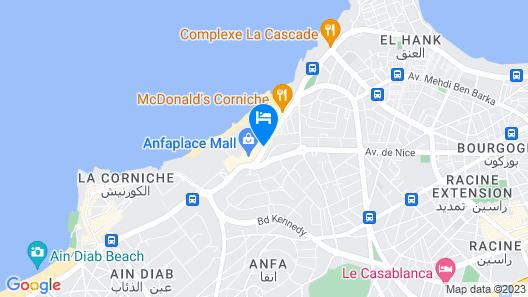 Four Seasons Hotel Casablanca Map