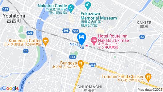 Toyoko Inn Oita Nakatsu Ekimae Map