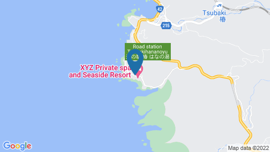 XYZ Private spa and Seaside Resort Map