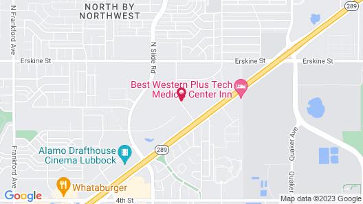 La Quinta Inn & Suites by Wyndham Lubbock North Map