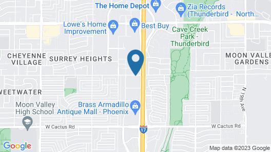 Econo Lodge Phoenix North I-17 Map